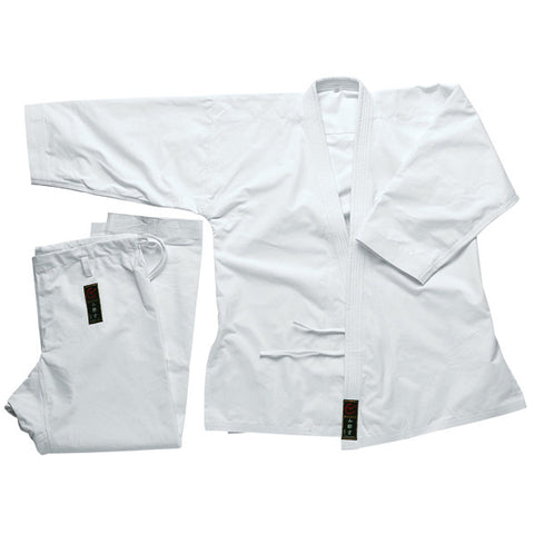 Wacoku 14 oz Super Heavy Weight Karate Gi - White - SparringGearSet.com