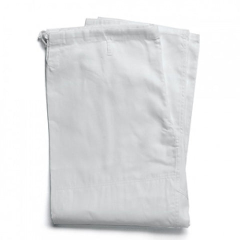 White KARATE PANTS 10oz Poly/Cotton