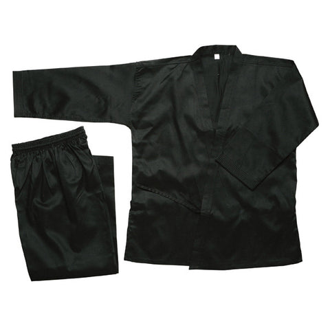 Masterline Student Karate Uniform, Black - SparringGearSet.com
