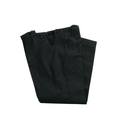 12 oz HEAVY WEIGHT KARATE PANTS BLACK - SparringGearSet.com