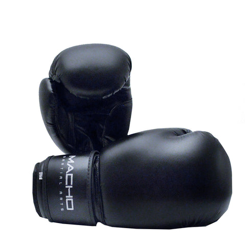 MACHO BASIC BOXING GLOVE (Black or Pink) - SparringGearSet.com - 1