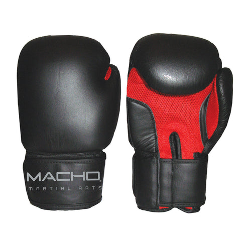 MACHO LEATHER BOXING GLOVE - SparringGearSet.com