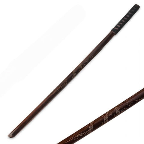 Hardwood Training Red Dragon Bokken - SparringGearSet.com