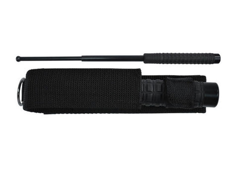 "HEAVY TACTICAL BATON, Squared Rubber Grip, 21"" - SparringGearSet.com"