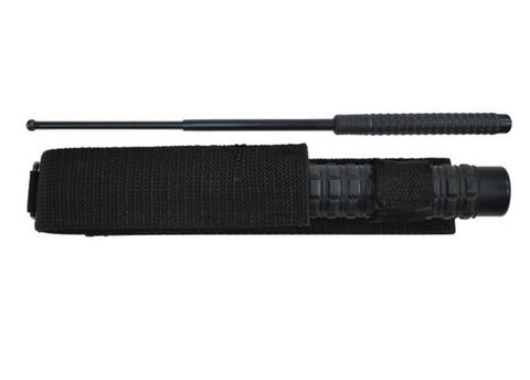 "HEAVY TACTICAL BATON, Squared Rubber Grip, 26"" - SparringGearSet.com"