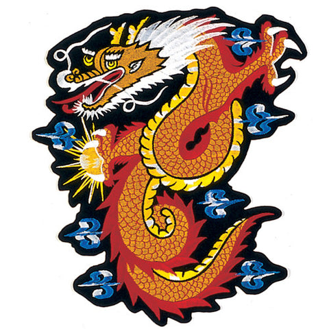 "11"" GOLDEN DRAGON PATCH - SparringGearSet.com"