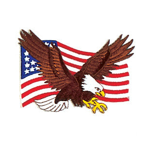 EAGLE + FLAG PATCH - SparringGearSet.com