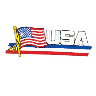 BANNER USA PATCH - SparringGearSet.com
