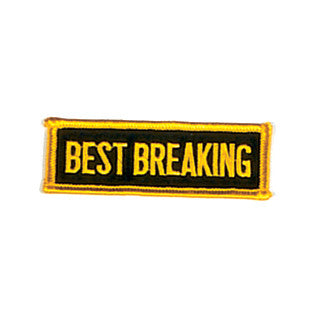 """Best Breaking"" Patch - SparringGearSet.com"
