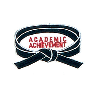 """Academic Achiever"" Patch - SparringGearSet.com"