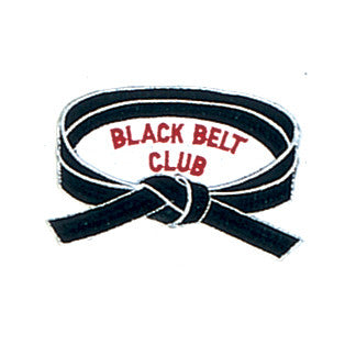 """Black Belt Club"" Patch - SparringGearSet.com"