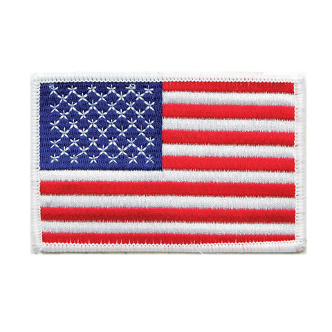 "USA FLAG PATCH ""White Border"" - SparringGearSet.com"
