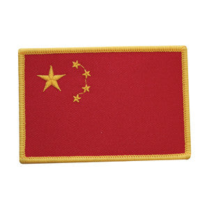 China Flag Patch - SparringGearSet.com