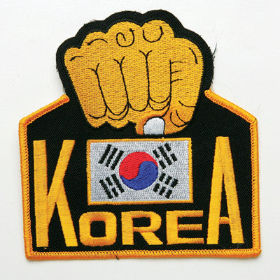 Korea Fist Patch - SparringGearSet.com