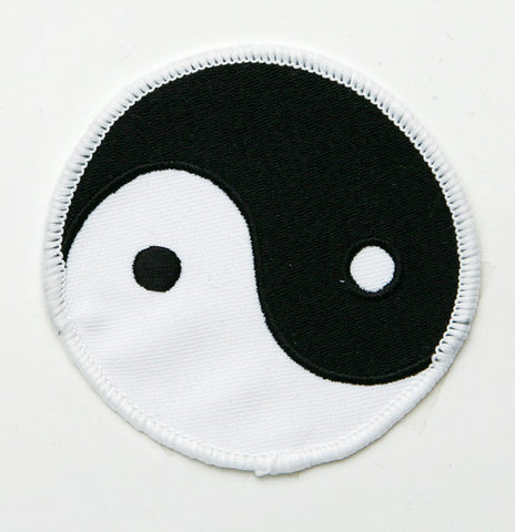 "4"" Yin Yang Patch - SparringGearSet.com"