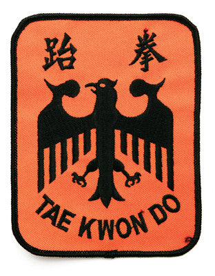 "TKD Eagle Patch ""Square"" - SparringGearSet.com"