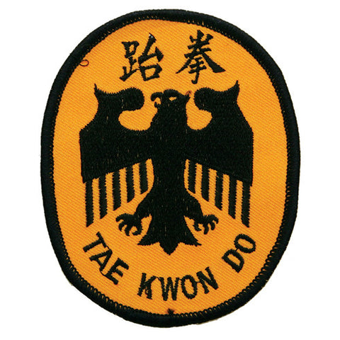 "TKD Eagle Patch ""Circle"" - SparringGearSet.com"