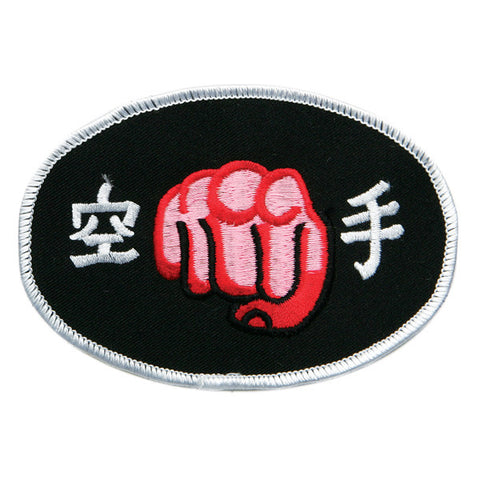 Karate Fist Patch - SparringGearSet.com