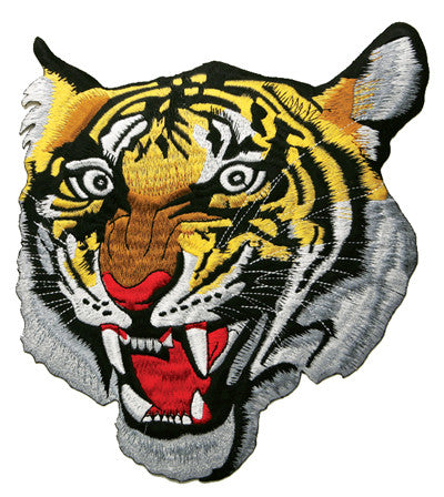 "10"" Golden Tiger Patch - SparringGearSet.com"