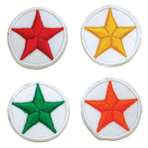 Round Color Star Patch - SparringGearSet.com