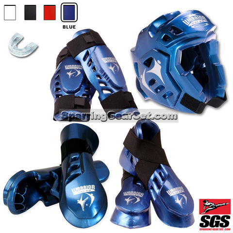 Macho Warrior Deluxe Sparring Gear Set