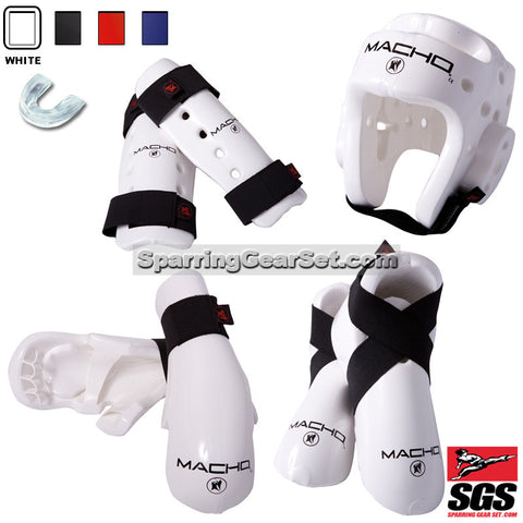 Deluxe Macho Dyna Sparring Gear Set