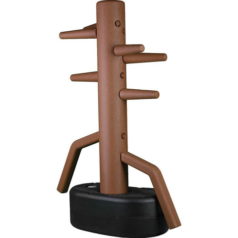 Wing Chun Tough Plastic Freestanding Dummy - SparringGearSet.com - 1
