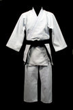 Single Weave Judo Uniform Gi - White