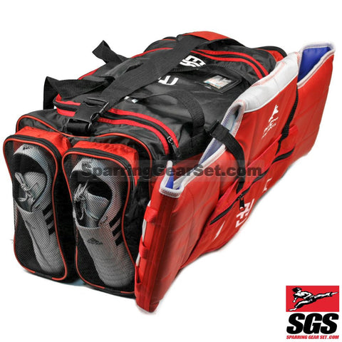 Pine Tree Sangmoosa Large Nylon Gear Bag with Ventilation Pockets - SparringGearSet.com - 1