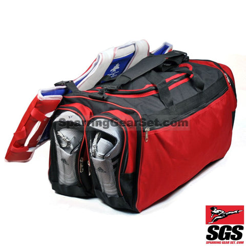 "Pine Tree Sangmoosa Large ""World Tae Kwon Do Federation"" Gear Bag - SparringGearSet.com - 1"