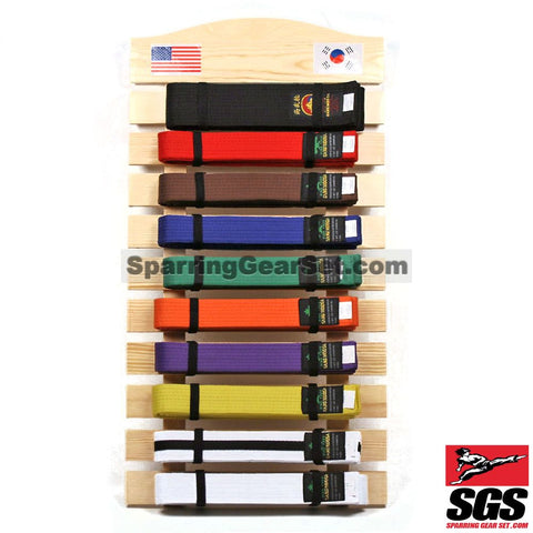 Foldable Wall Mountable Belt Display