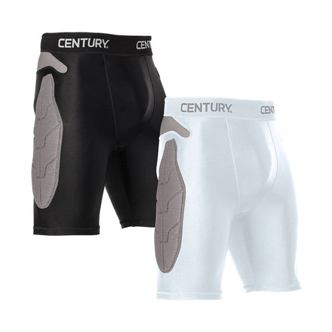 CENTURY Youth Padded Compression Shorts - SparringGearSet.com - 1