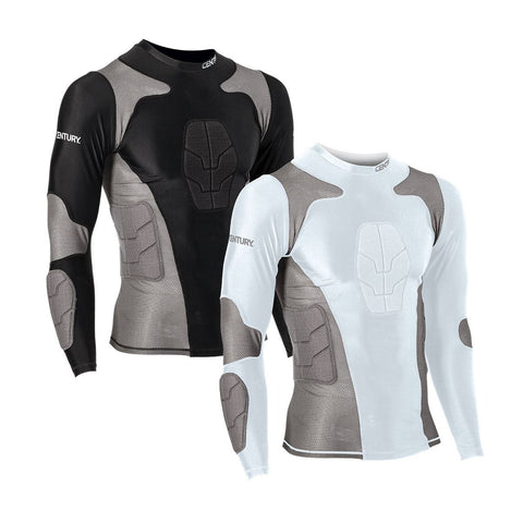 CENTURY Long Sleeve Padded Compression Shirt - SparringGearSet.com - 1