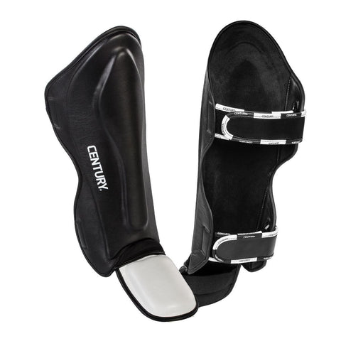 CENTURY Creed Traditional Shin Instep Guards - SparringGearSet.com - 1
