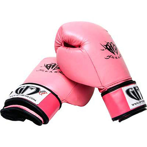 GFY Gear Pink Leather Boxing/Muay Thai Glove 12oz