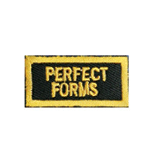 """Perfect Forms"" Patch - SparringGearSet.com"