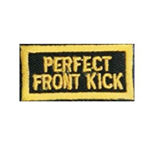 """Perfect Front Kick"" Patch - SparringGearSet.com"