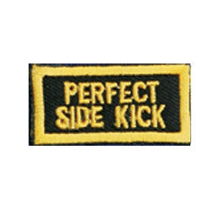 """Perfect Side Kick"" Patch - SparringGearSet.com"