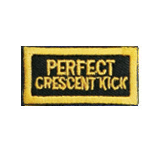 """Perfect Crescent Kick"" Patch - SparringGearSet.com"