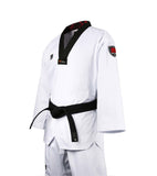 MOOTO SEASON 4.5 BLACK V NECK TAEKWONDO UNIFORM