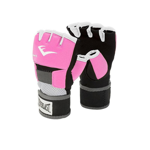 EVERLAST EVERGEL GLOVE WRAPS M-PINK-boxing training mma handwraps - SparringGearSet.com