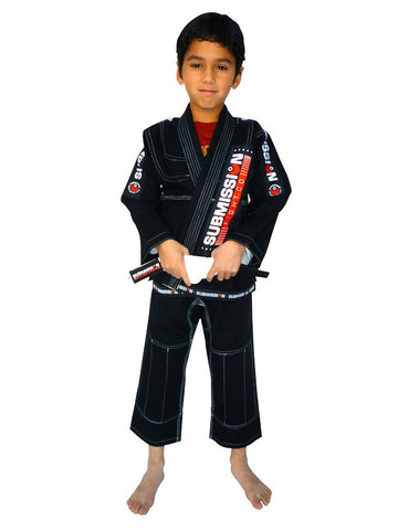 Submission Kids Jiu-Jitsu Gi Black