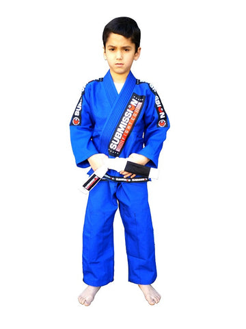 Submission Kids Jiu-Jitsu Gi Blue