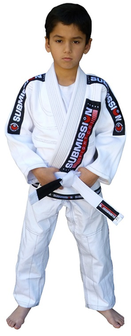 Submission Kids Jiu-Jitsu Gi White