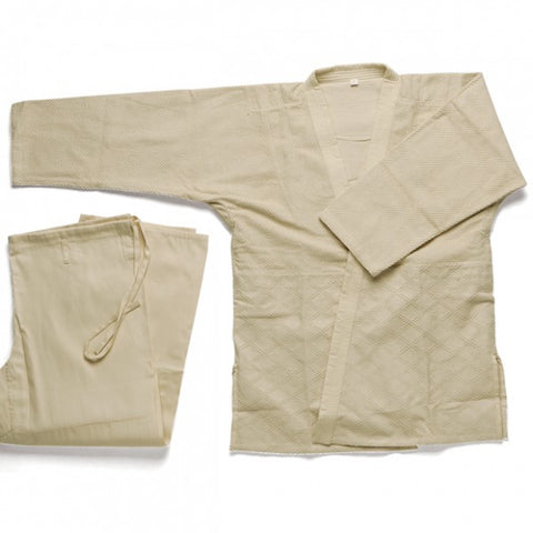 Double Weave Judo Gi - Natural/Unbleached