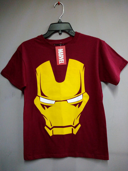Iron-Man Face - Crush Comics