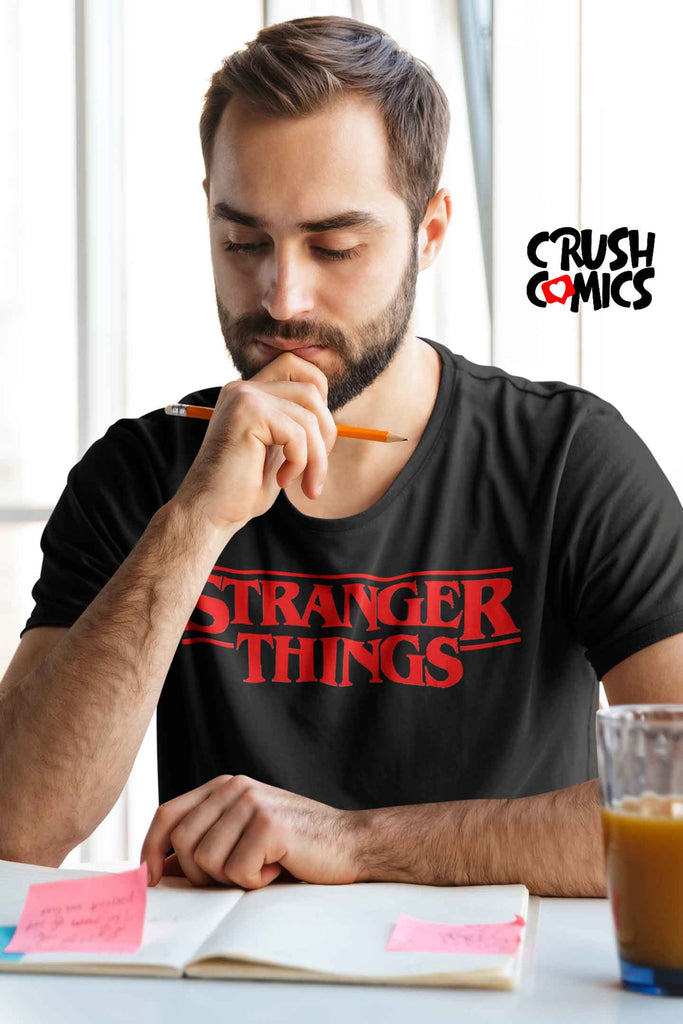 Stranger Things Black - Crush Comics