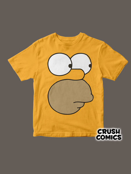 Homero Face - Crush Comics