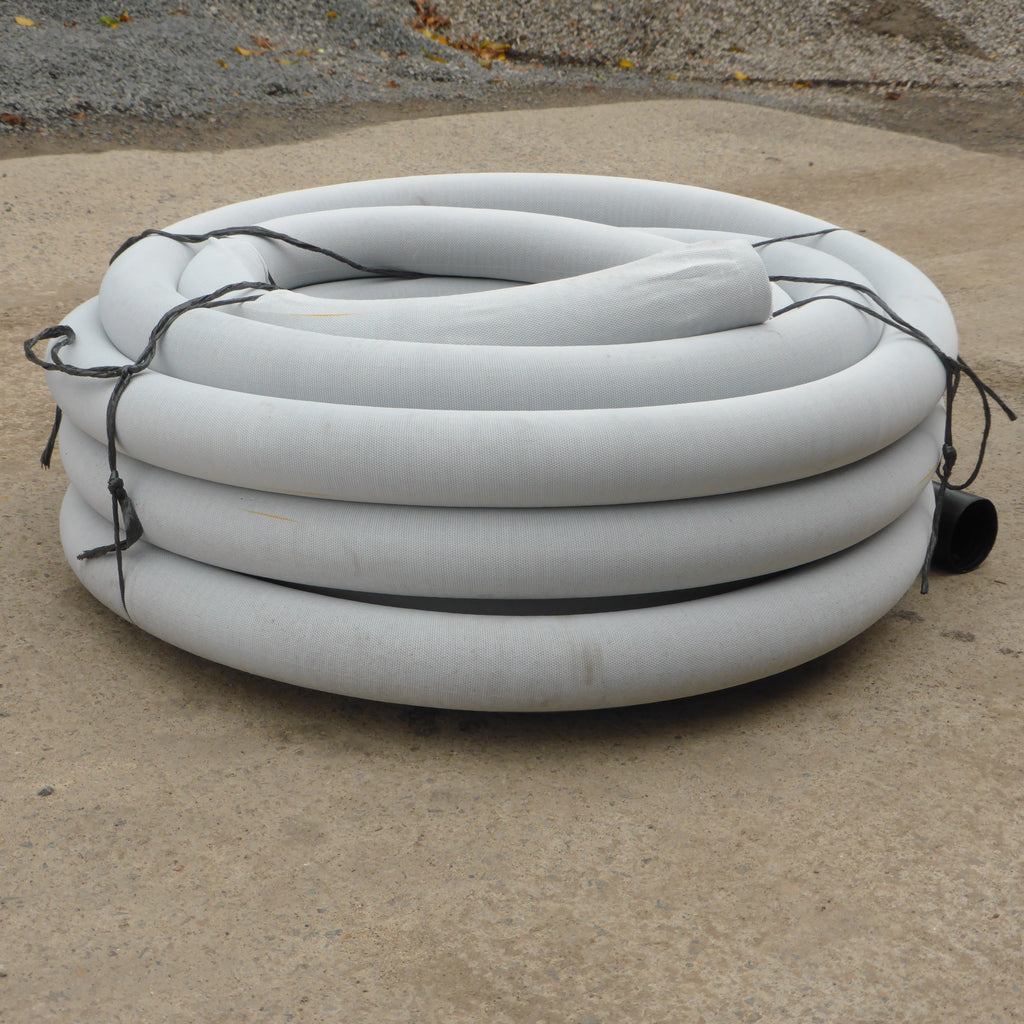 Agricultural drainage pipe 100mm x 20m - SOCKED