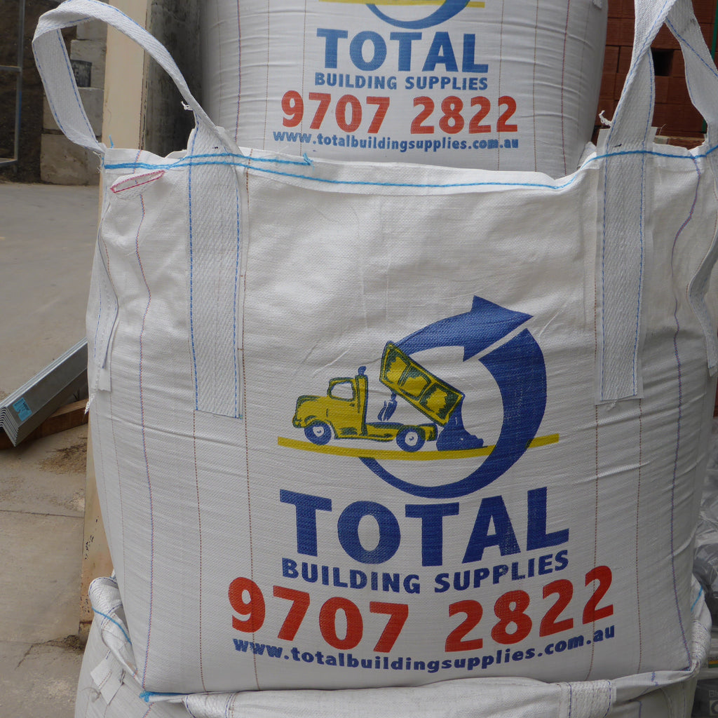 BULKA BAG (1/2 TON) WESTERN WHITE PEBBLES 20mm